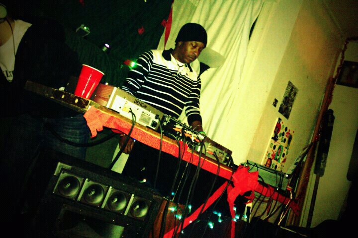 BLAKLITE - Spinning @ The Race's XMAS PARTY & Fundraiser Event: 12/19/2010