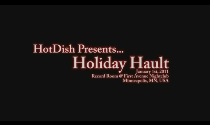 Hotdish Holiday Hault- First Avenue Record Room - Minneapolis, MN - January 1, 2011
